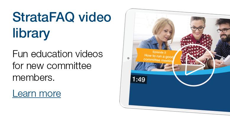 StrataFAQ video library